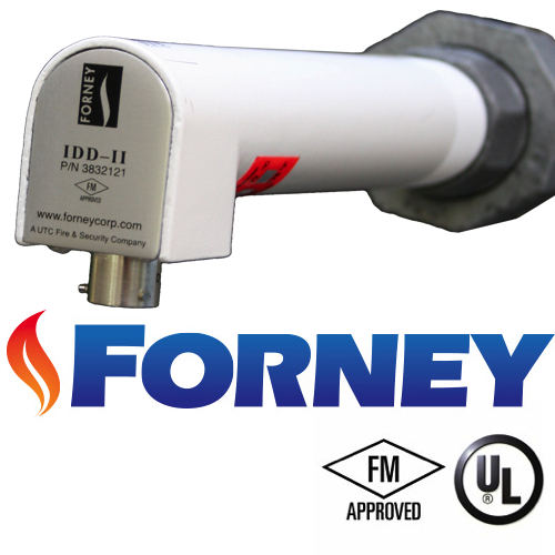 Flame Detection Equipment | Forney IDD Flame scanner